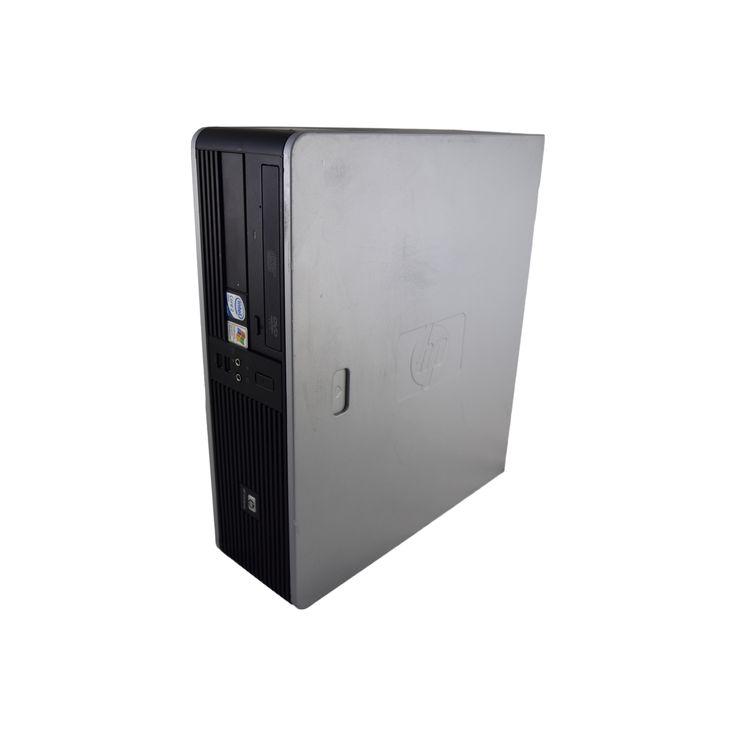 HP Compaq DC7900 SFF Intel Core 2 Duo E8400 3GHz 8GB Dimm DDR2 Sata 1TB Windows 10 Home 64-bit Grey and Refurbished PC