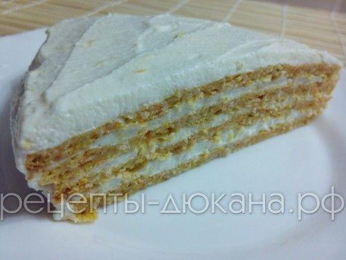 Морковный торт по Дюкану | Рецепты диеты Дюкан
