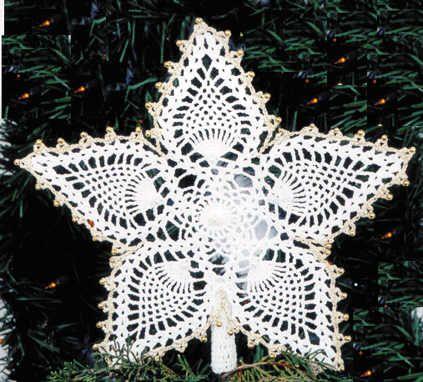 Pineapple Star Ornament