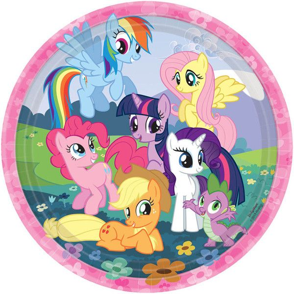 "My Little Pony 9"" Lunch Plate 