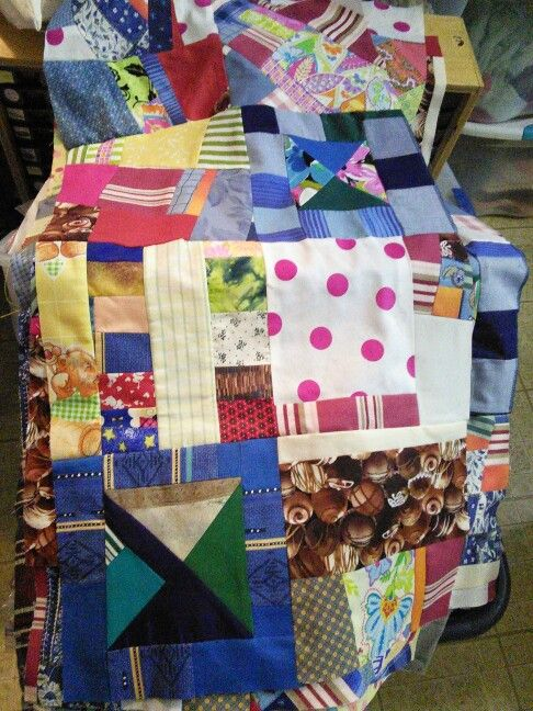 Random scraps for shopping bags ~ by Gypsy Stitches~