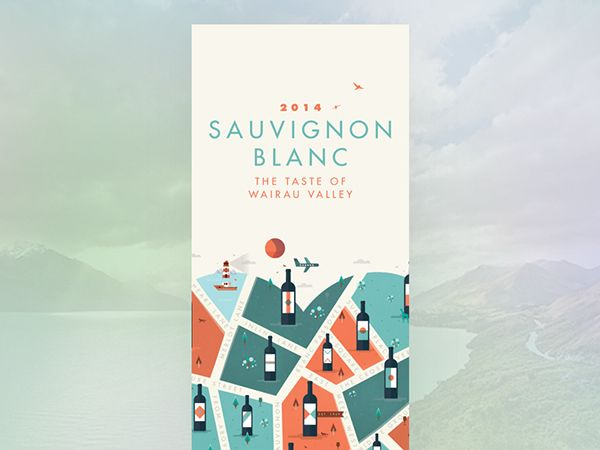WINE CITY // For the love of wine on Behance