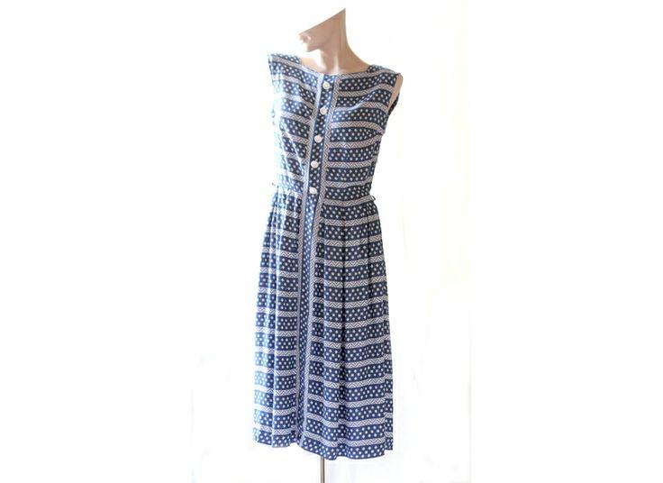 50er Original Vintage Kleid Gr. 36/38   von Avantgarde-Plus auf DaWanda.com