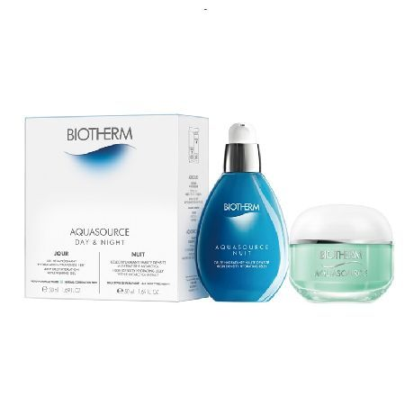 Biotherm Deep Hydrating Partners Gift Set 0064677 Biotherm Deep Hydrating Partners Gift set contains a 50ml Aquasource Gel which is a 48 hour deep hydration replenishing gel and a 50ml Aquasource Nuit which is a high density hydrating jell for use at http://www.MightGet.com/may-2017-1/biotherm-deep-hydrating-partners-gift-set-0064677.asp
