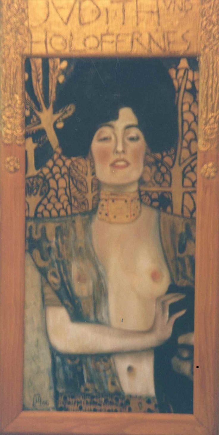 Klimt copy oil on canvas