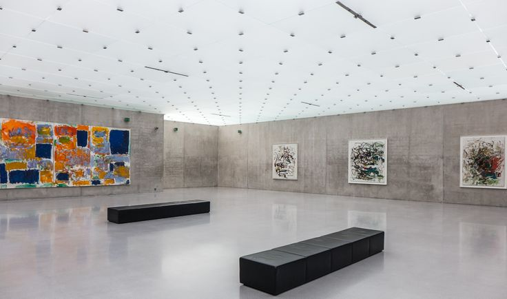 Kunsthaus Bregenz (architecture: Peter Zumthor | art: Joan Mitchell)