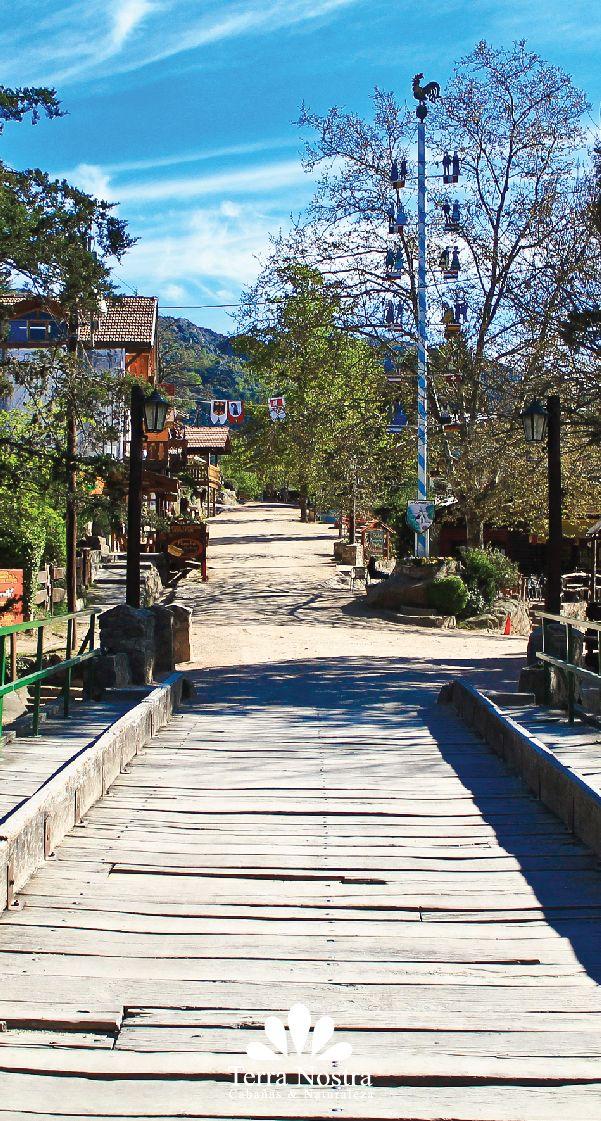 Vista entrada al pueblo por el puente! Cabañas Terra Nostra La Cumbrecita en Córdoba #TerraNostra #Travel #Trip #Argentina #Cordoba #LaCumbrecita #Pin #Cabañas #Facebook -->> http://bit.ly/TerraNostra