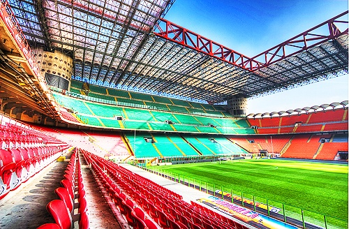 San Siro oh my it's beautiful