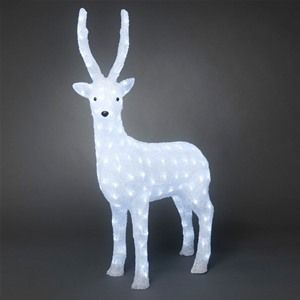 Konstsmide 6168-203 Acrylic LED Christmas Reindeer - 105cm
