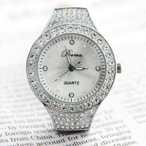 Rhinestone Strap Watch