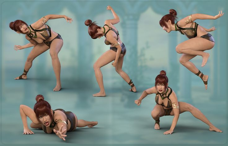 Z Warrior Princess - Poses for Genesis 8 Female and Olympia 8 | 3D Models and 3D Software by Daz 3D