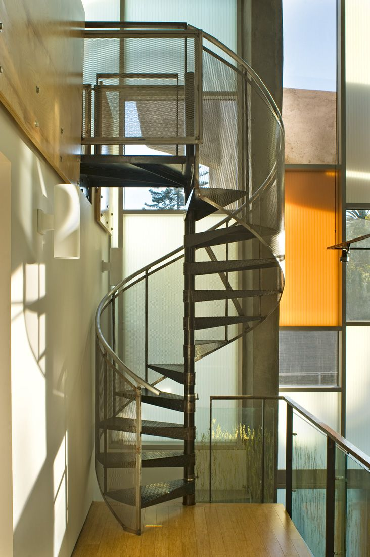 82 best escaleras images on pinterest | stairs, metal stairs and