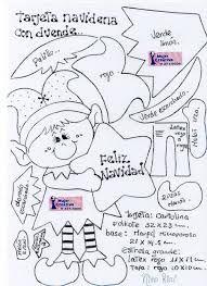 Resultado de imagen para figuras de duendes navideños de fieltro