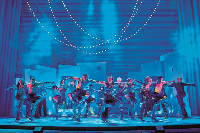 Mamma Mia Broadway Set Design | Lunchbox Theatrical Productions