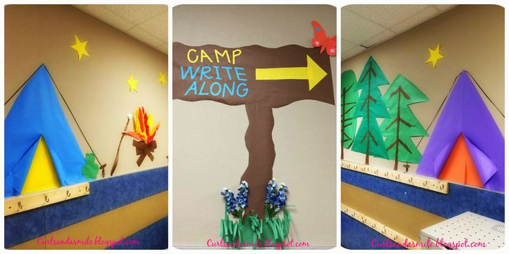 Curls and a Smile: Camp Write Along