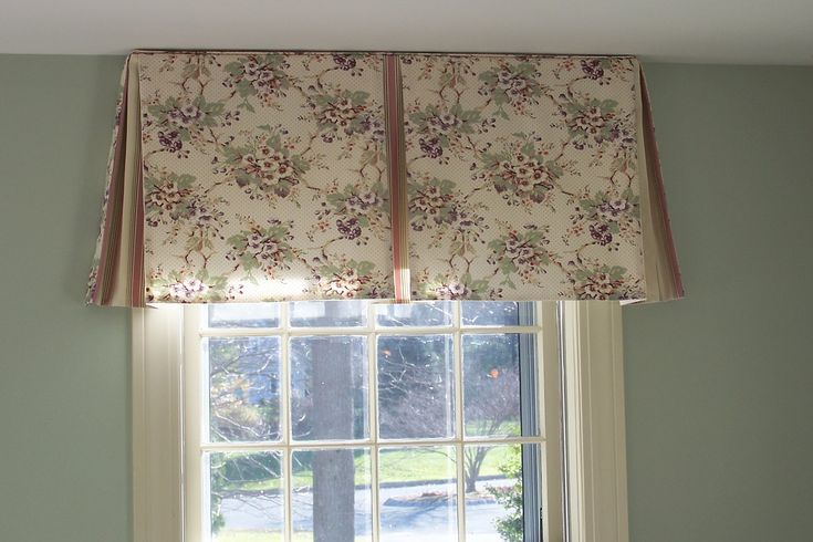 Valances For Windows With Blinds Box Pleats