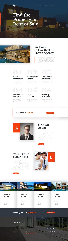 Real Estate Agency Website Template - https://www.templatemonster.com/website-templates/real-estate-agency-website-template-58633.html