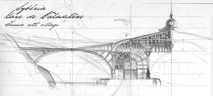 sketches : Valadilène. Syberia