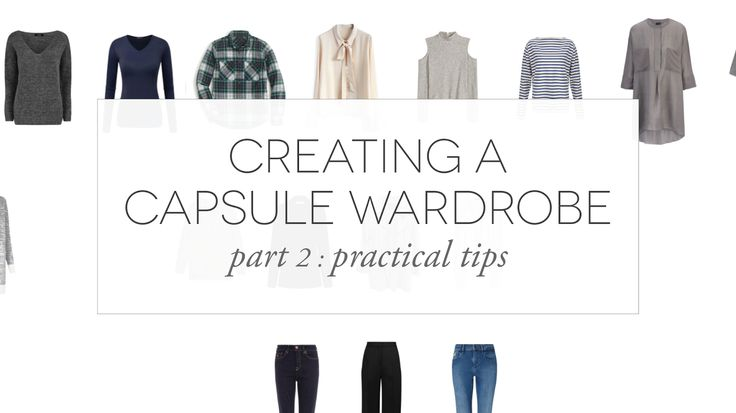 Creating a Capsule Wardrobe 2: The Spectrum | Light by Coco | Bloglovin'