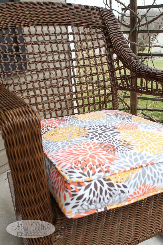 Update Your Outdoor Deck Or Patio Furniture With New, Custom Made Cushions  From Miss Pollyu0027s