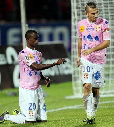 Modou Sougou et Nicolas Benezet sont de retour dans le groupe. Grégory YETCHMENIZA/Le Dauphiné Libéré