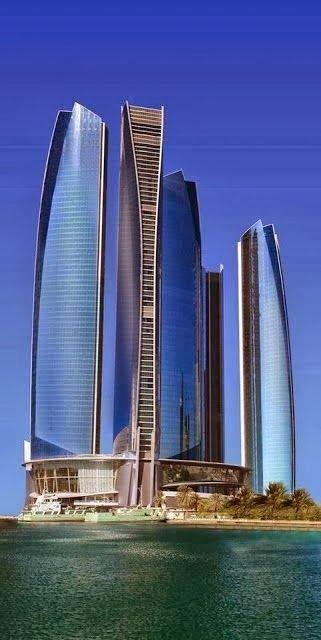 etihad towers complejo de edificios con cinco torres situado en abu dhabi la capital