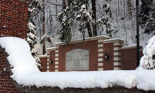 Denison University, Granville, Ohio