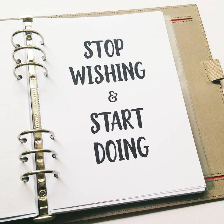 My motto for 2017. What's yours?  #planneraddict #bulletjournal #bulletjournaling #bulletjournalcommunity #bulletjournaljunkies #bujo #bujocommunity #bujojunkies #wearebujo #filofaxpersonal #filofax #filofaxing #filofaxlove #filofaxaddict