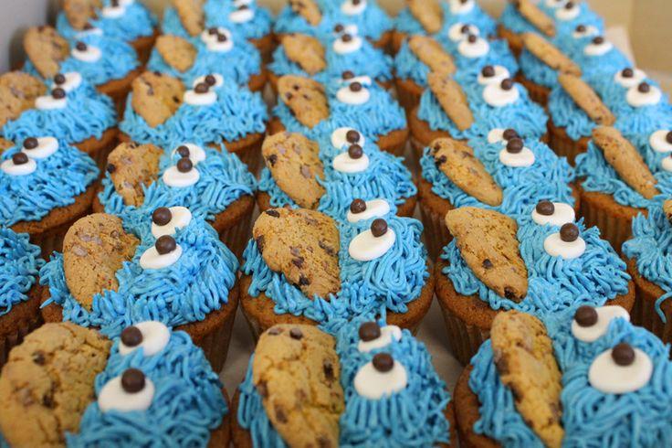 Cookie Monster cupcakes by Sweet Bakery & Cakery, Wellington, NZ (www.sweetbakery.co.nz)