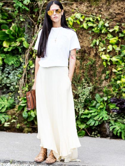 Despite what Emily Post said, white can be worn (and look chic) all year long. But nothing says summer quite like a cool, crisp all-white lo...