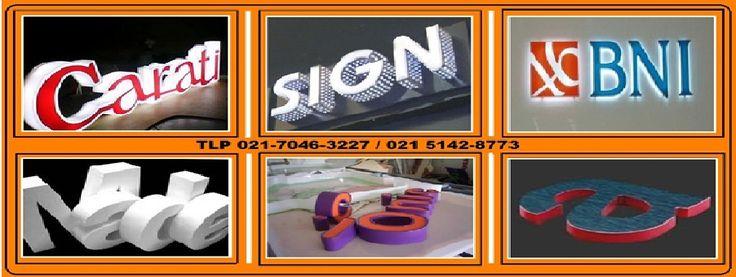 Huruf Timbul Acrylic / Akrilik Spesifikasi Bahan : - Letter terbuat dari Acrilyc sheet 3 mm tergantung tinggi huruf - Colouring menggunakan sticker transflucent oracal - Finishing poles ( Autosol)  TLP 02151428773