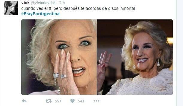 #PrayForArgentina #Argentina #ISIS #Twitter