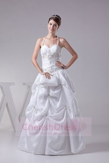 Embroidery Pick up  Wedding Dresses  Cherishdress Princess Wedding