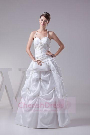 Embroidery Pick up  Wedding Dresses  Cherishdress Princess Wedding