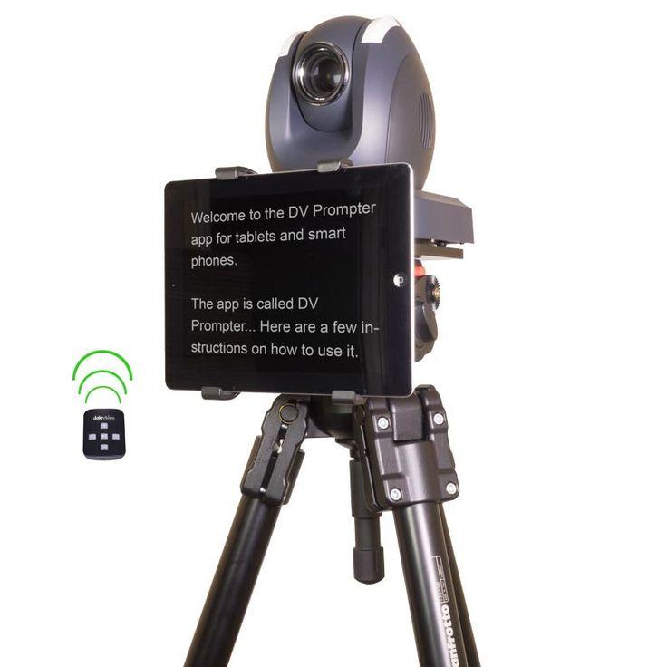 Datavideo tp150 teleprompter system tablet halterung