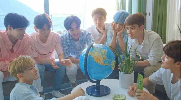 """[CAP] #CHANYEOL and #EXO on Nature Republic X #EXO —""""#EXO is here for A_S!"""""""