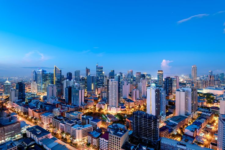 Makati, the business district of Manila, the Philippines. #travel #wanderlust #thephilippines
