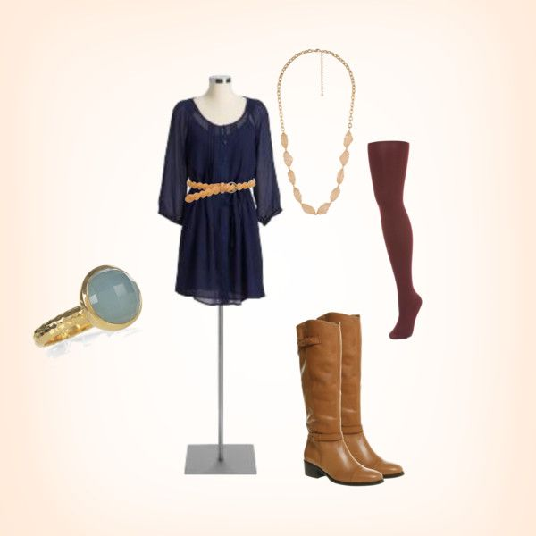 maybe not with the tights...not sure: Cowgirl Boots, Pictures Outfit, Fall Pictures, Outfit Idea, Color Tights, Fall Fashion, Fall Outfit, Cute Outfit, Casual Boots