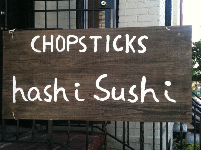 I remember this place in Washington D.C... so wish I'd had tried the sashimi here :)