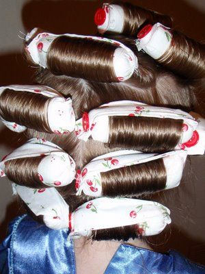 DIY: Fabric Hair Roller Tutorial