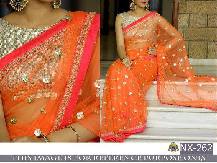 Indian Pakistani Saree Sari Designer Partywear Traditional New Bridel Ethenic NX #Unbranded #Choli