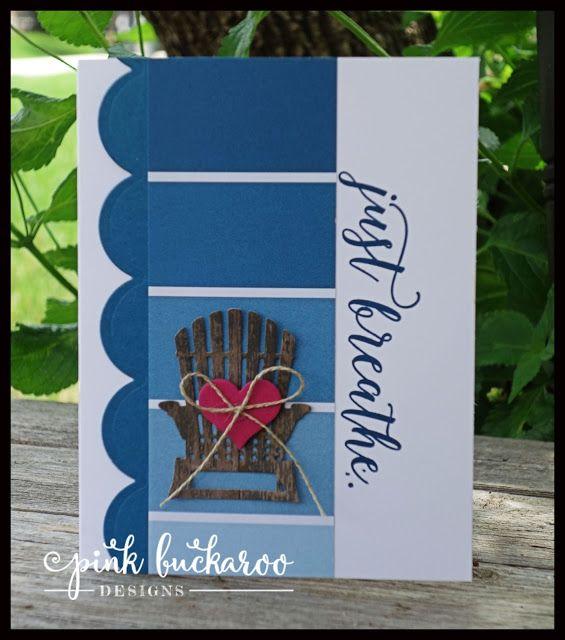 Pink Buckaroo Designs: Colorful Seasons Card