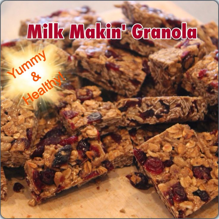 Wise Momma's Kitchen : Easy, Yummy Lactation Granola Bars Recipe (Dairy free) A healthy alternative to lactation cookies. Perfect for any breastfeeding mom who's trying to increase her milk supply or anyone who wants a healthy snack!