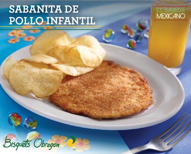 #MenúInfantil #Sabanita #Pollo