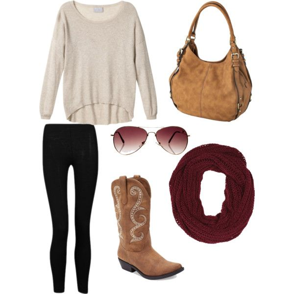 Fall... i love any outfit that gives me a reason to wear my cowgirl boots