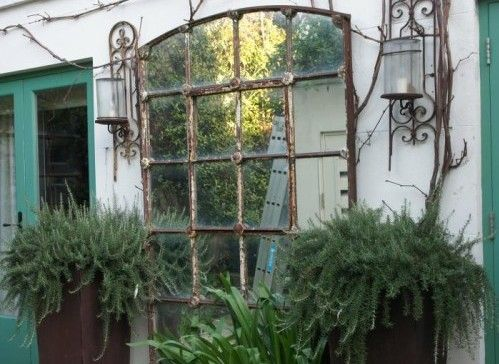 338 best images about changes on pinterest gardens for Outdoor mirror ideas
