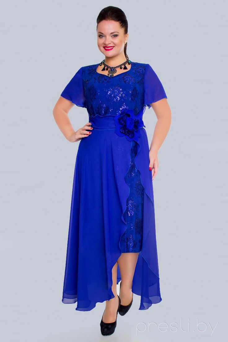 Купить платье бочонок большого размера