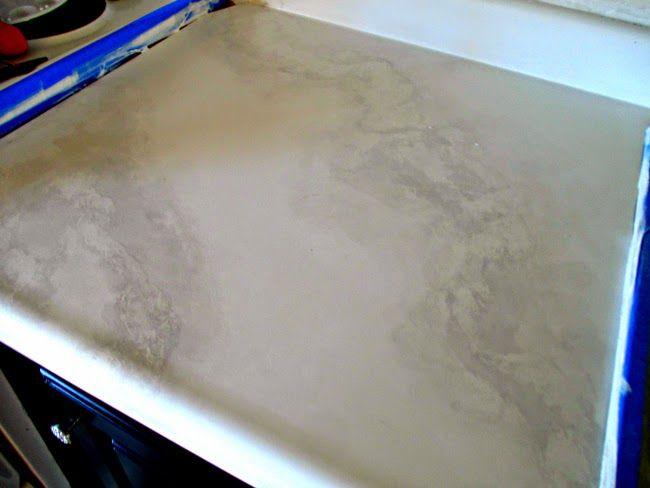 Diy Faux Marble Countertops Diy Pinterest Diy And Crafts Faux Marble Countertop And Marbles