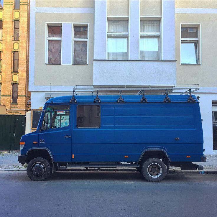 Mercedes-Benz 814D Allroad 4x4 Camper Van #mercedesbenz #benz #MB #MB814 #814D #allroad #4x4van #4x4 #mercedescamper #vanlife #van #soloparking #instacars #carspotting #carsofinstagram #igersberlin #mbfanphoto #adventuremobile #campvibes #homeiswhereyouparkit #campervan #offroad #vanlove #vanfan #Berlin #vansofberlin