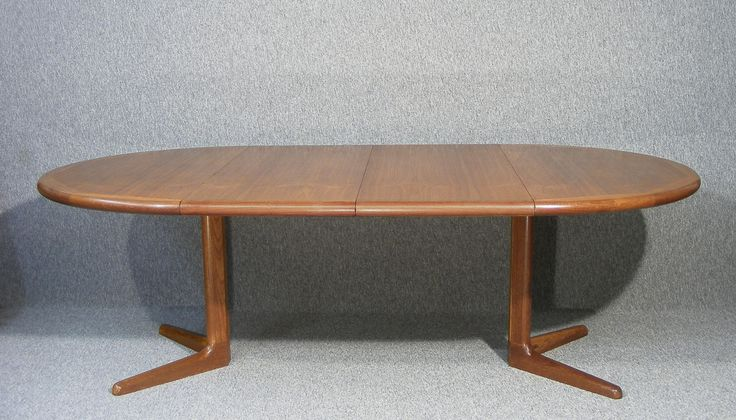 Fabulous Edvard Valentinsen Danish Teak Extending Dining Table